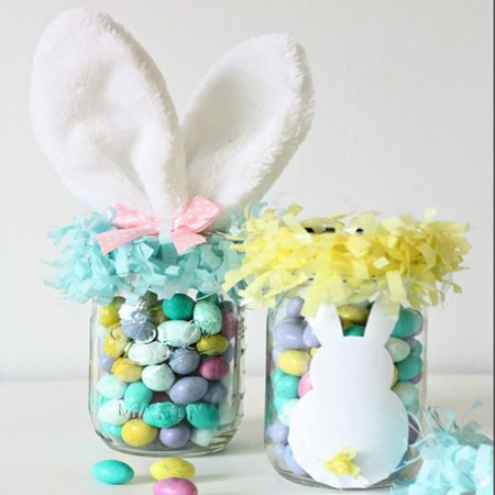 easter mason ball jar craft ideas