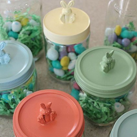 mason ball jar craft ideas for easter