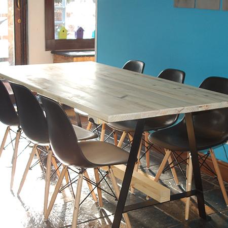 Home Dzine Diy Make A Pine Dining Table