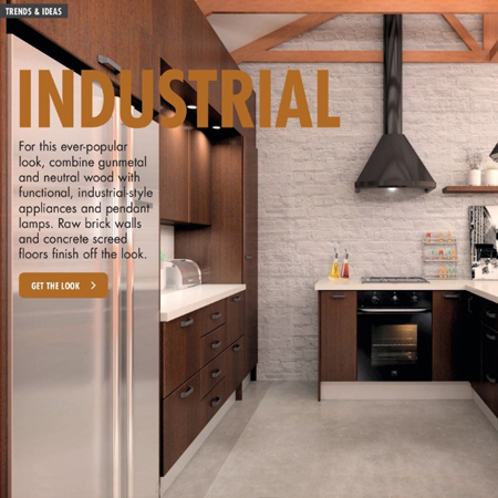 builders warehouse show you how to build a DIY kitchen with various designs