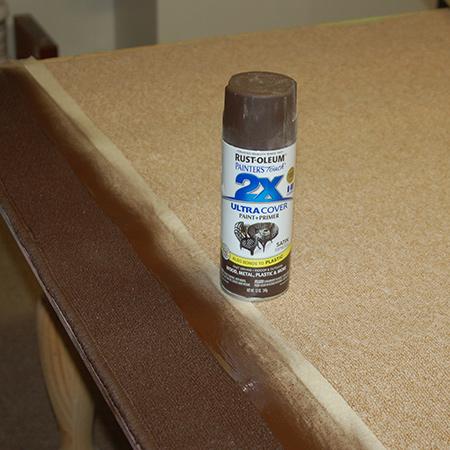 Home Dzine Craft Ideas Rust Oleum Sprayed Carpet