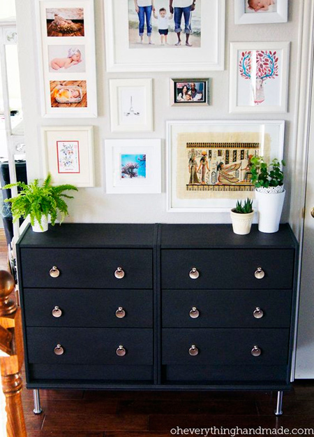 White Chest Of Drawers Diy