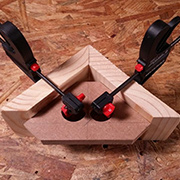 Easy corner clamp jig