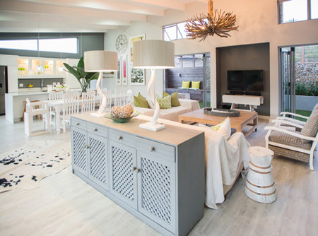 The home owners are a young couple with two small children and wanted an open plan design to incorporate kitchen, dining and living room.