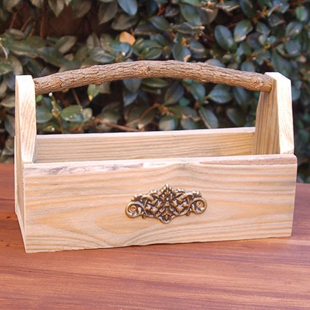 You can use this relcaimed wood holder for herbs and spices, for serviettes, or anything else you can think of.