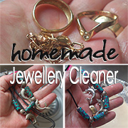Homemade jewellery cleaner