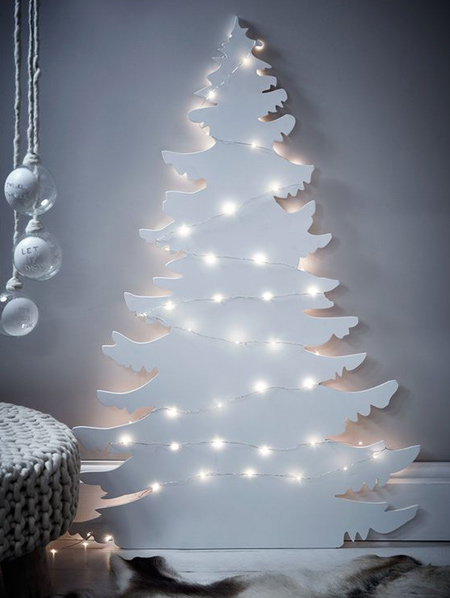 Use LED fairy lights to decorate your home for the holidays. Today's LED fairy lights are safe, affordable and can be used for a variety of decor projects to light up your home with festive cheer.