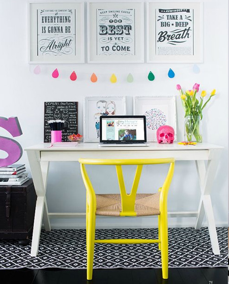 beautiful home office ideas - modern and comfortable