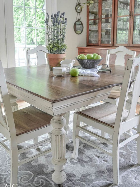 The popularity of chalk painted furniture continues to grow, as more people realise how easy it is to paint furniture with chalk paint.