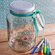 Consol Colouring in Jars