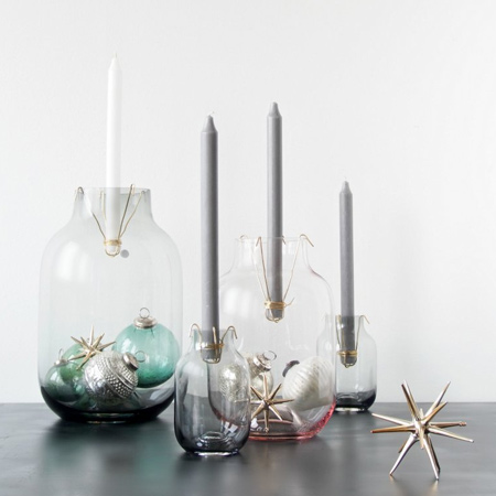 Turn jars or vases into votives