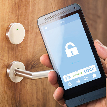 With wireless technology, home security is easy to install