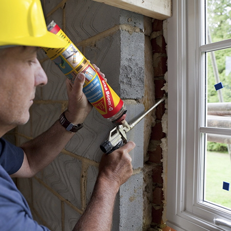 Fill the gap with Sika Boom. Use Sika Boom for fixing, insulating and various filling projects in and around the home.