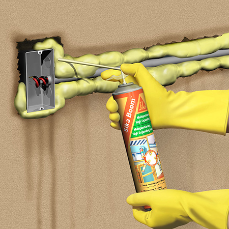 Fill the gap with Sika Boom