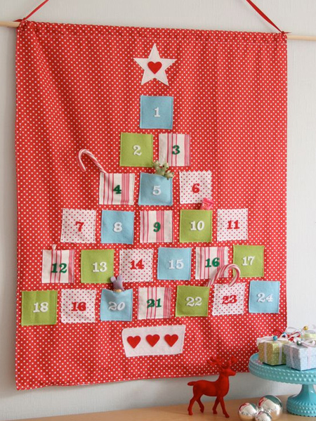 Advent Calendar Design Your Own : Home dzine craft ideas make your own advent calendar