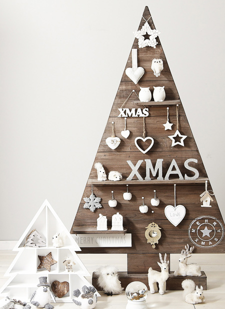reclaimed wooden pallet christmas trees to make
