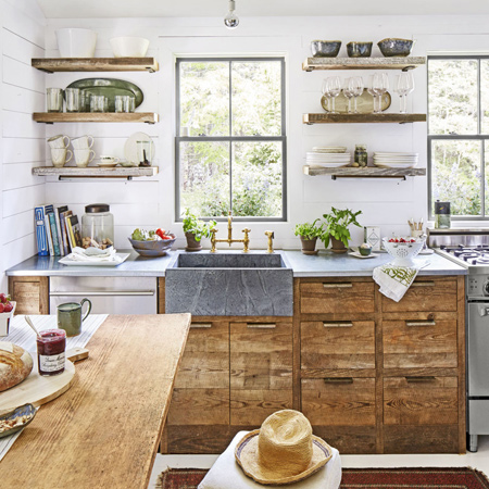 There was a time when the most important choice for a kitchen was choosing a wood stain or selecting a melamine wrap - but no more! For today's modern kitchens more folks are choosing to customise the heart of their home with paint and wood accents.