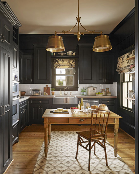 Home Dzine Kitchen Cosy Farmhouse Kitchen Ideas
