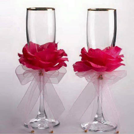 Quick and easy flower glasses