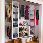 Simple, practical DIY storage closet