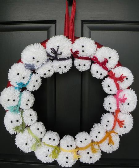 Christmas Yarn Craft Ideas