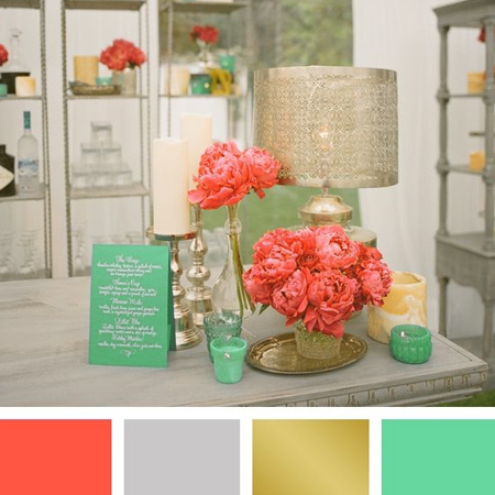 Coral And Teal Or Soft Aqua Bring Pastel Colour To Any Home Without The  Saccharine Sweetness Of Many Other Pastel Hue Combinations. Photo Gallery