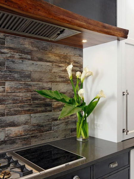 Smooth glassy surfaces of polished white will always be in vogue, but earthy naturals are also sought after. Wood features, wood-look floor tiles, brick wall cladding and stone mosaics are ways to bring texture and natural flair to your kitchen.