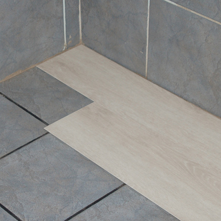 Home Dzine Bathrooms Cover Up Ugly Tiles With Belgotex Lvt Flooring