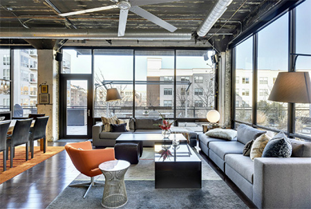 With the continuing move towards rejuvenating inner city living, we take a look at an urban loft renovation by Dwelling Designs that highlights how commercial or industrial properties can be transformed into beautiful living spaces.
