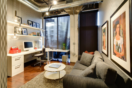 Urban loft renovation