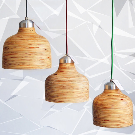 Brought to you by Modern Gesture, the Pendant Lampshade is handcrafted from wood