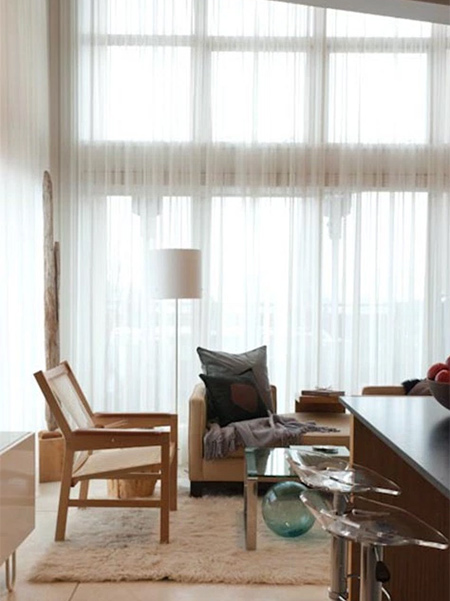 Sheer window treatments offer a cost-effective way to change out your window treatments, protect your funishings, but still allow your home to be light and airy.