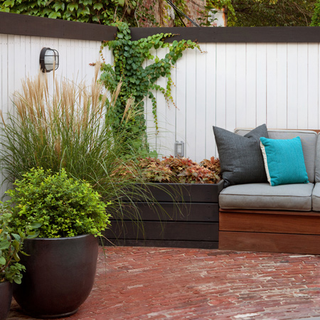 Great ideas for compact gardens