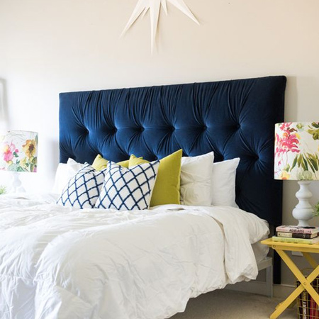 Easy DIY headboard ideas