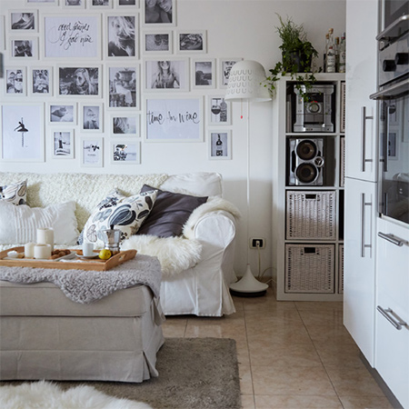 White has always been the 'go to' colour for many home decorators. But white can be just as sophisticated as any colour.