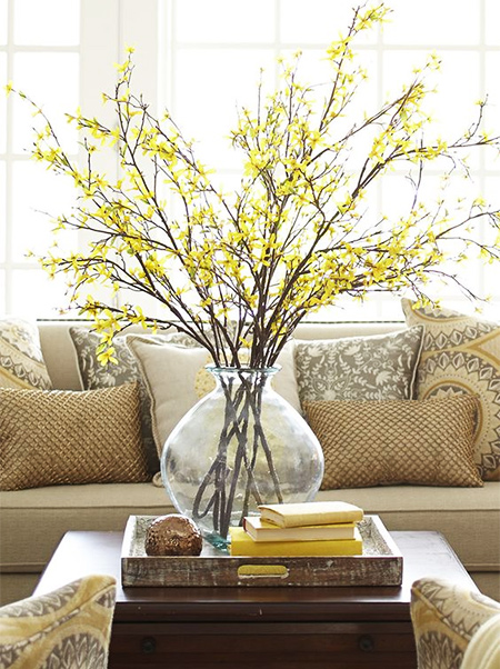 Inspired Spring decor