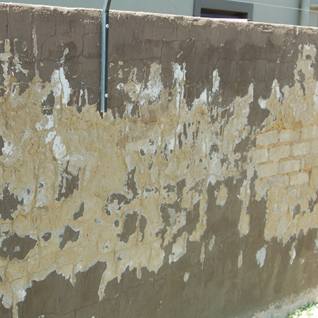 HOME DZINE Home Improvement Tips on plastering an exterior wall