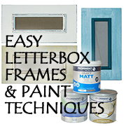 DIY Letterbox Picture or Mirror Frame