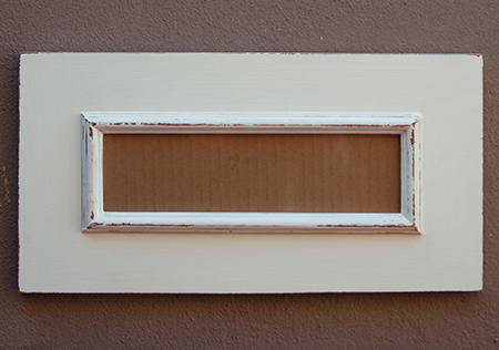HOME DZINE Home Decor | DIY Letterbox Picture or Mirror Frame