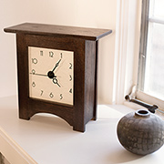 Make a Modern Mantel Clock