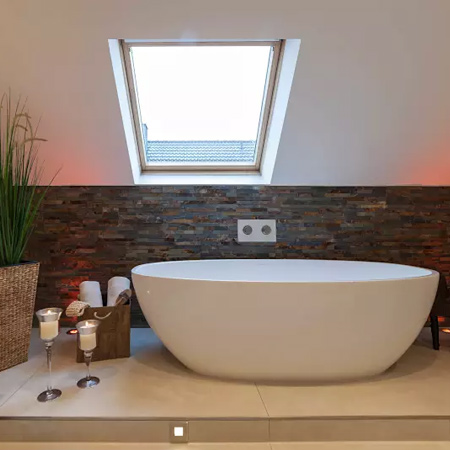 look at the option of installing a skylight to let in more natural light - without losing any privacy or having to put up with too much mess