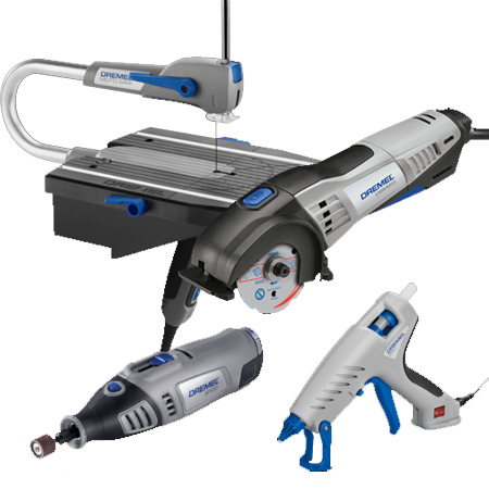 Or a selection of Dremel tools for crafts and decor projects.