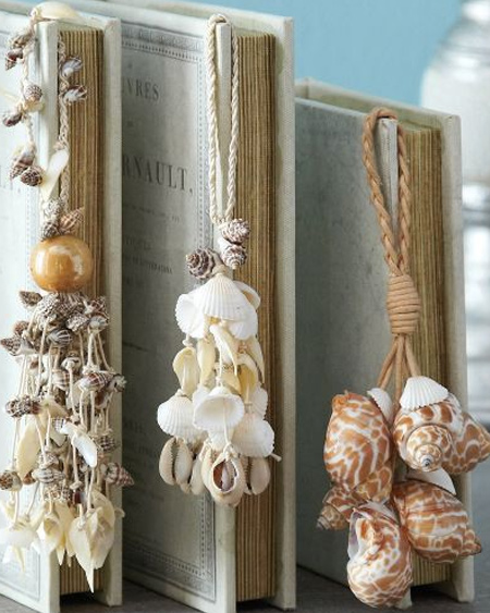 Beautiful crafts with shells