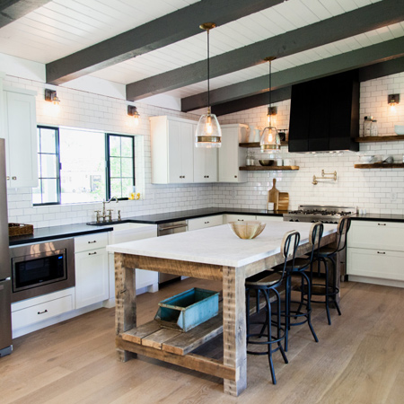 New homes with reclaimed style