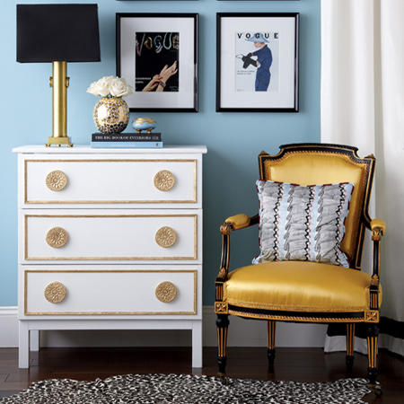 Transform pine furniture with paint
