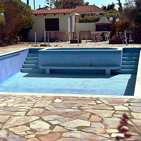 HOME-DZINE - Pool Tips - If the pool water has reached the stage of no return, you will need to drain the pool and start again. Once the pool is empty you can undertake repairs to the pool itself, maintain pool lights, and fix any problems with the pipes or pump. However, DO check with your local Municipality that there are no water restrictions in force.