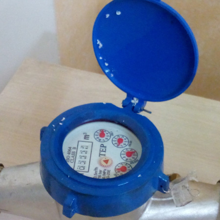 HOME-DZINE | DIY Plumbing - inferential water meter - record readings to check for underground water leaks