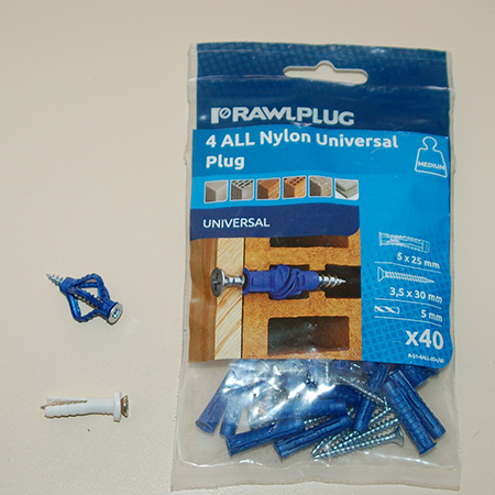 Rawlplug 4ALL wall plugs are available at select hardware stores countrywide, or get in touch with www.VermontSales.co.za to locate your nearest retail outlet, or visit www.rawlplug.co.za.