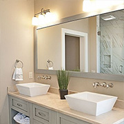 Easy ways to add style to a bathroom