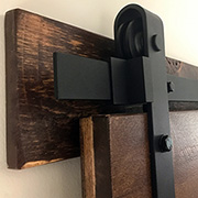 Make and mount a DIY sliding barn door